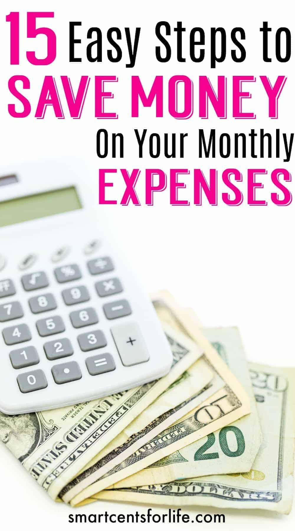 These 15 tips will save you money at home. You can save hundreds of dollars a month by just making some adjustments to your monthly bills.