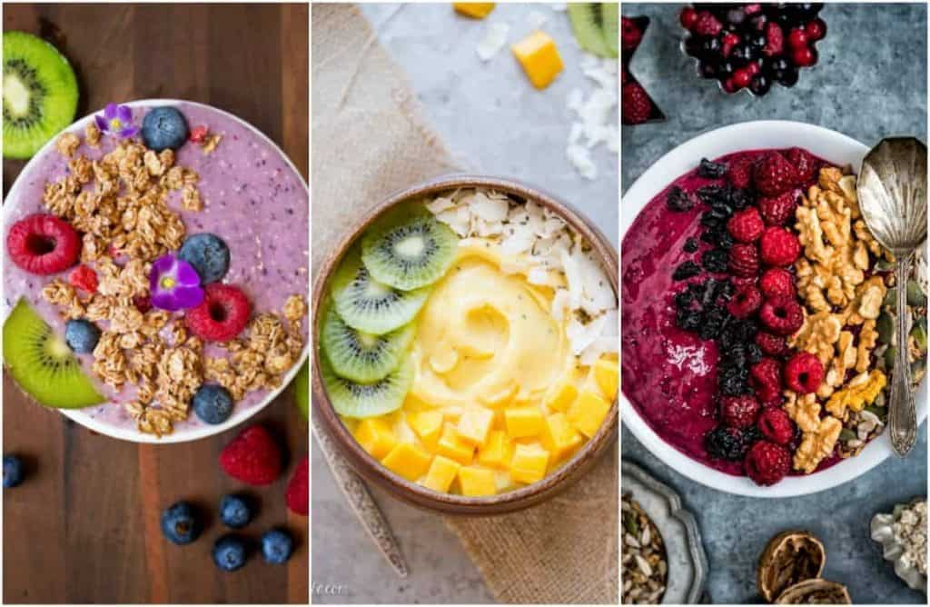 12 Most delicious smoothie bowl recipies for a healthy breakfast.