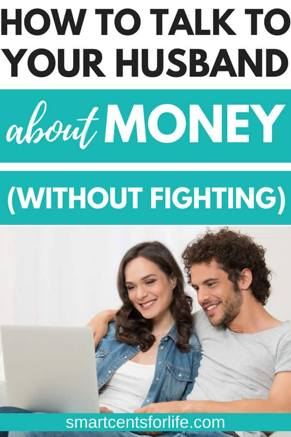 Want to stop fighting with your husband about money? Check out these simple 7 steps to stop fighting about money with your spouse! Get your finances in order with a healthy and happy relationship! #marriage #savemoney #frugal #familyfinances