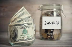 Are you looking to save more money this year? Check out these 8 simple money saving tips that will help you save over $7000 this year! Use this money to pay off debt, build an emergency fund, save it for a down payment to buy your first house or anything you want! Debt free, money tips #personalfinance #moneysavingtips
