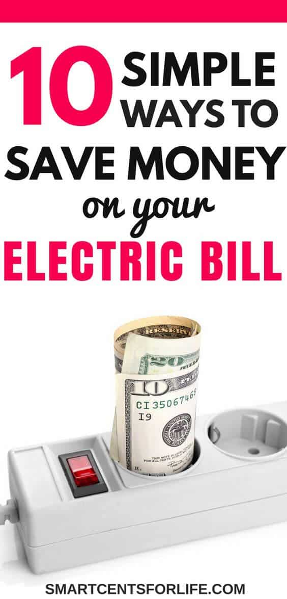 Here are some easy ways to reduce your electric bill at home! Find out how you can save tons of money on your electric bill every month. Saving money on electricity tips, save money on utilities, cut your electric bill, budgeting, how to save money, frugal living, #savingmoney #debtfree #money #personalfinance