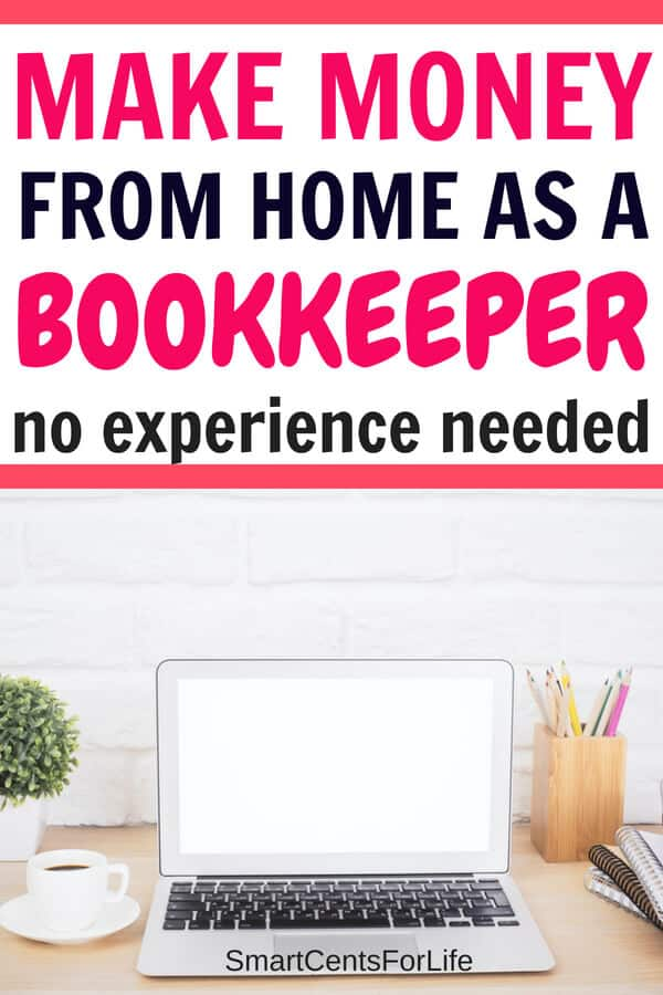 Find out how you can make money from home as a Bookkeeper with no prior experience needed. Learn how you can start making money at home bookkeeping and working online. A great legitimate work at home job to earn money online. Includes a three-day free course on how to become a bookkeeper and work from home! #businessideas #sidehustles #bookkeeper #makemoneyathome #athomejobideas