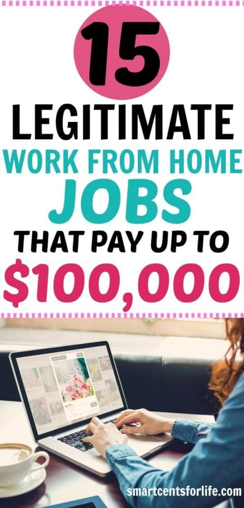 15 Legitimate Work-from-Home Jobs that Pay Up to $100,000+ A Year