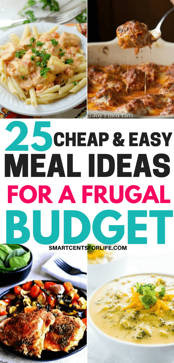 25 Cheap and Easy Meal Ideas for Large Families on a Budget