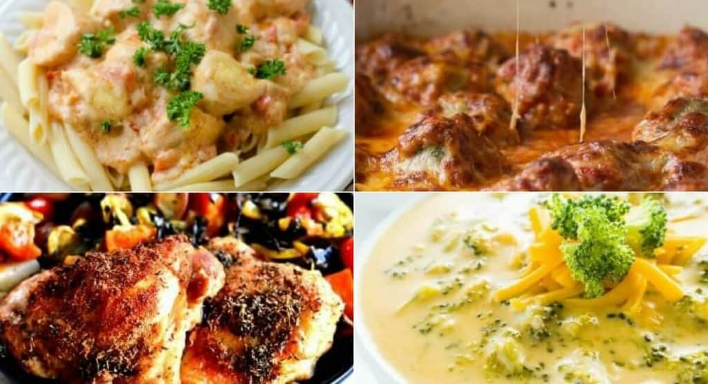 Are you looking for some cheap and easy meals on a budget? Here are some delicious budget-friendly recipes you can try this month. Chicken, beef and vegetarian and vegan meal ideas that won't break your budget! Learn how you can feed your whole family while keeping your grocery budget low! healthy recipes, cheap and easy meal ideas, crock pot recipes, casserole recipes
