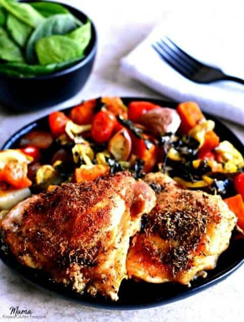 crispy chicken thighs