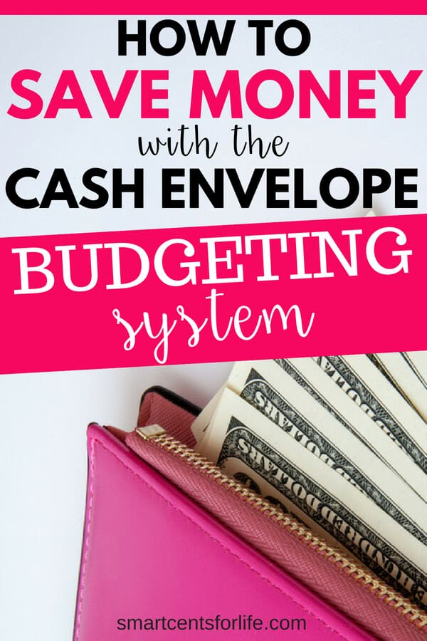 Want to know how to save money with the cash envelope system? Learn how to control bad spending habits and stay on track with your budget. A beginners guide to help you get started with a simple budgeting system using envelopes or a cash system wallet.