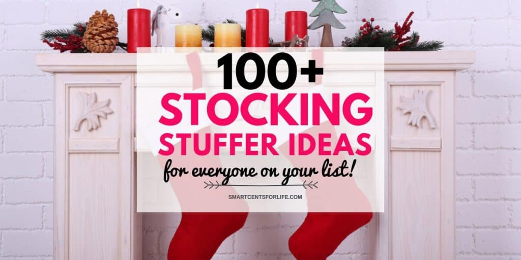 100+ Stocking Stuffer Ideas For Everyone on Your List