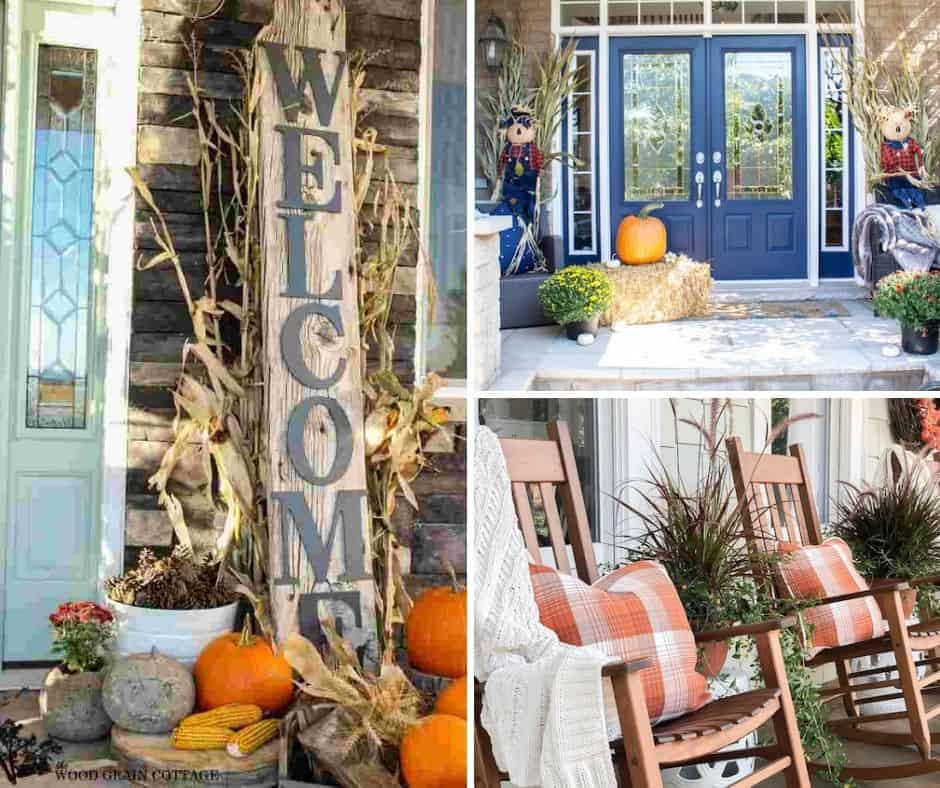 21 Inspiring Fall Front Porch Decorating Ideas You Can Try This Year!