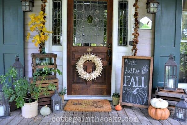 Fall Porch Decorating Ideas for Fall