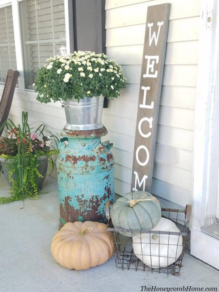 Outdoor Fall Decorations for Fall