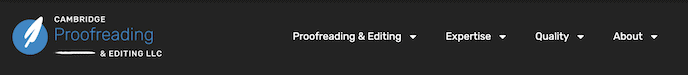 Cambridge Proofreading and editing