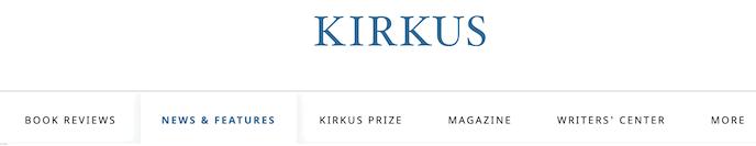 Kirkus screenshot for online proofreading jobs