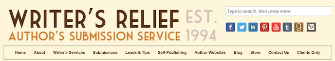 writers relief screenshot